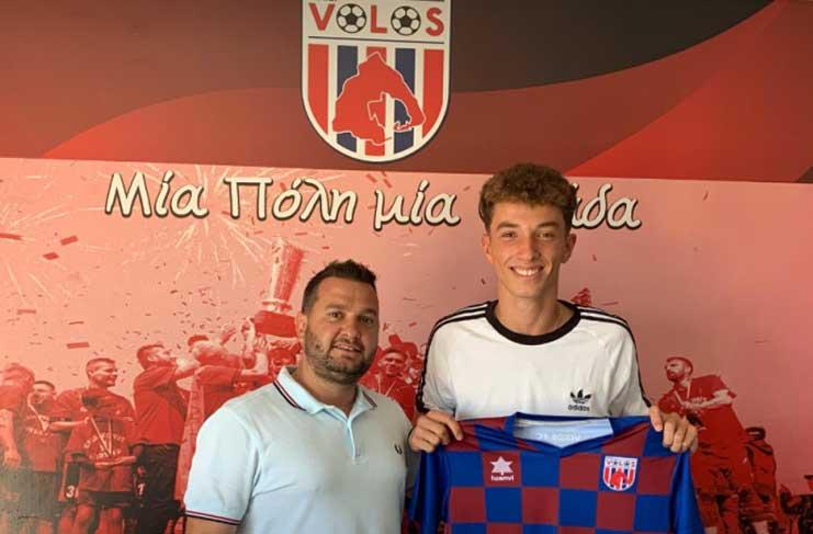 Επαγγελματίας στο Βόλο, ο 18χρονος Παύλος Λογαράς - Football Academies